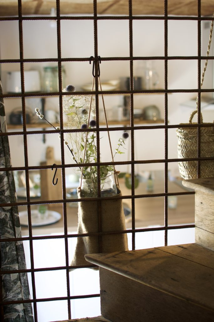 Vue chambre gîte Le Petit Atelier